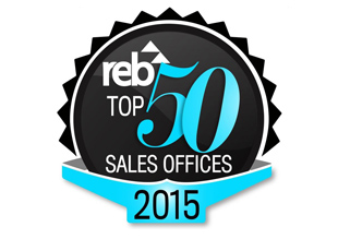 REB Online Top 50 Sales Offices 2015