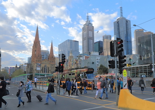 Melbourne overtakes Sydney as best performing capital